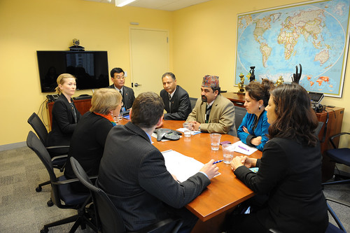 UN Women Executive Director Michelle Bachelet meets with Minister of Nepal | by UN Women Gallery