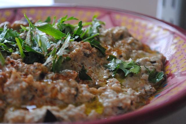Baba Ghanouj {Middle Eastern Eggplant Dip} | My Halal Kitchen | Flickr ...