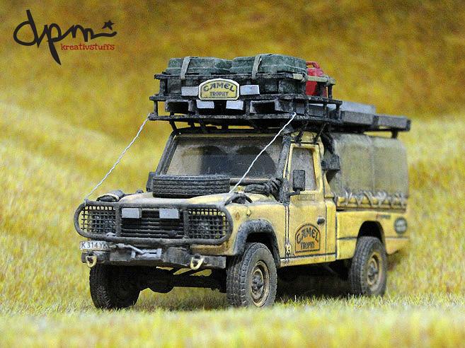 Land Rover Defender 110 Hcpu Camel Trophy 1993 Sabah Mal