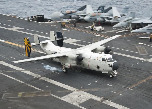 C 2a Greyhound Logistics Aircraft 130406-N-LP801-052 | F...