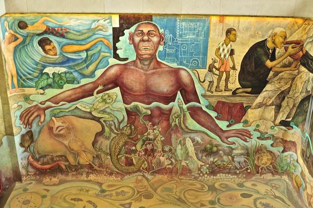 El agua origen de la vida mural de diego rivera ii for Un mural de diego rivera