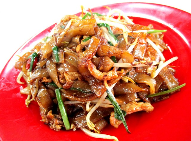 Hua's Cafe fried kway teow, dry 1