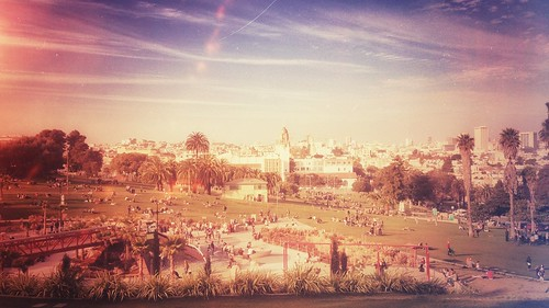 Dolores Park in February | by Maykel Loomans