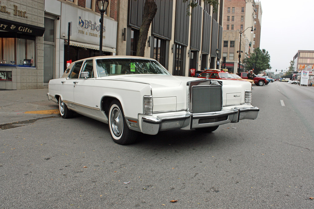 1978 Lincoln Continental Town Car 2 Of 3 Photographed At Flickr