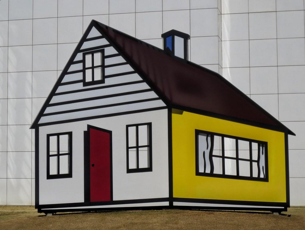 Roy Lichtenstein ~ House III | www.high.org/ From museoinfo:… | Flickr