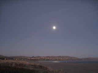La luna over Bodega Bay | by meligrosa