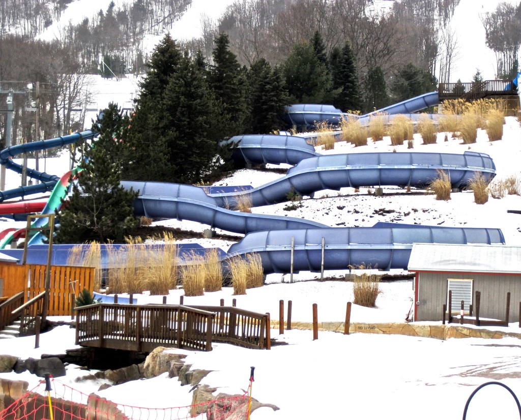 camelback poconos ski resort slide blue | photographynatalia | flickr