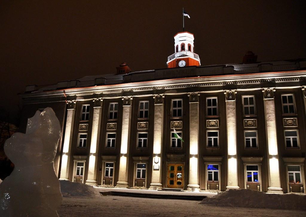 Johvi City Hall Johvi Raekoda Elvis Koll Flickr