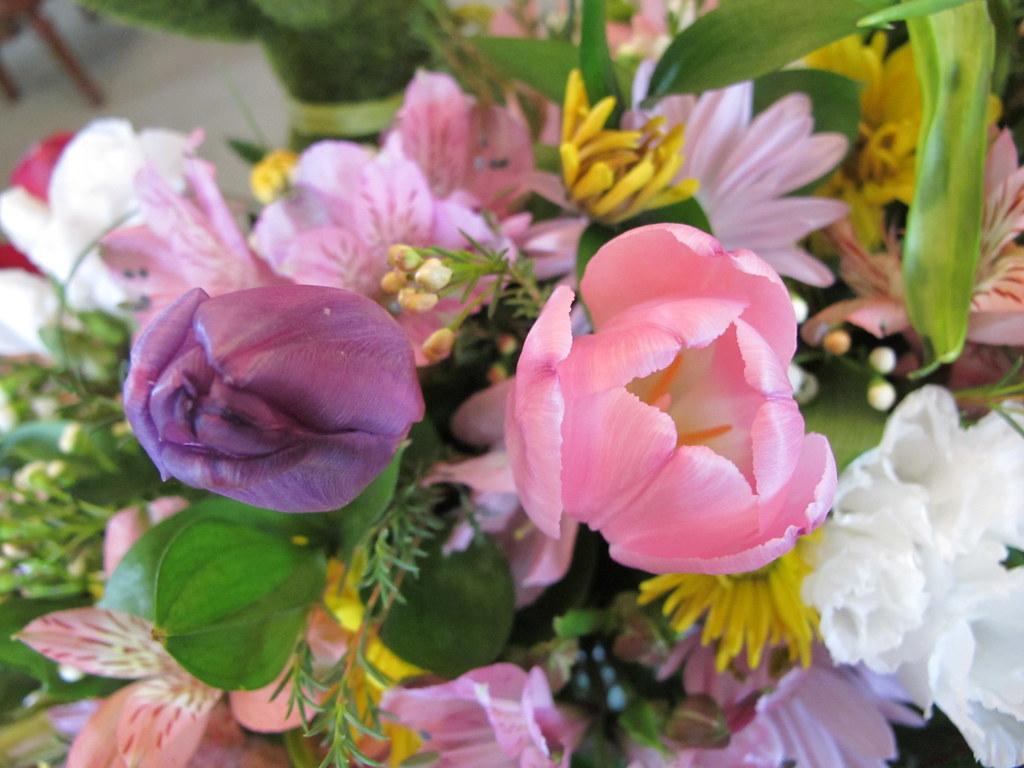 34226 birthday flower arrangement for mom 2013 birthday gi flickr 34226 birthday flower arrangement for mom 2013 by bsabarnowl izmirmasajfo