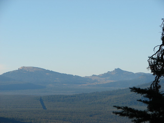 Llao Rock and Hillman Peak