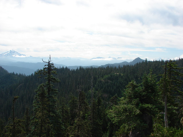 Mt. Jefferson, Three Fingered Jack and The Three Sisters