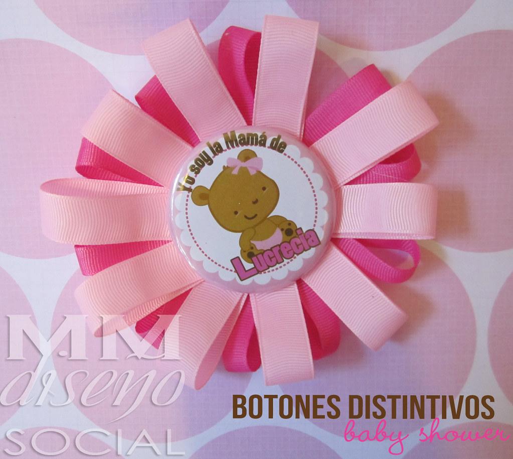 Baby Shower Distintivos ~ Botones distintivos baby shower