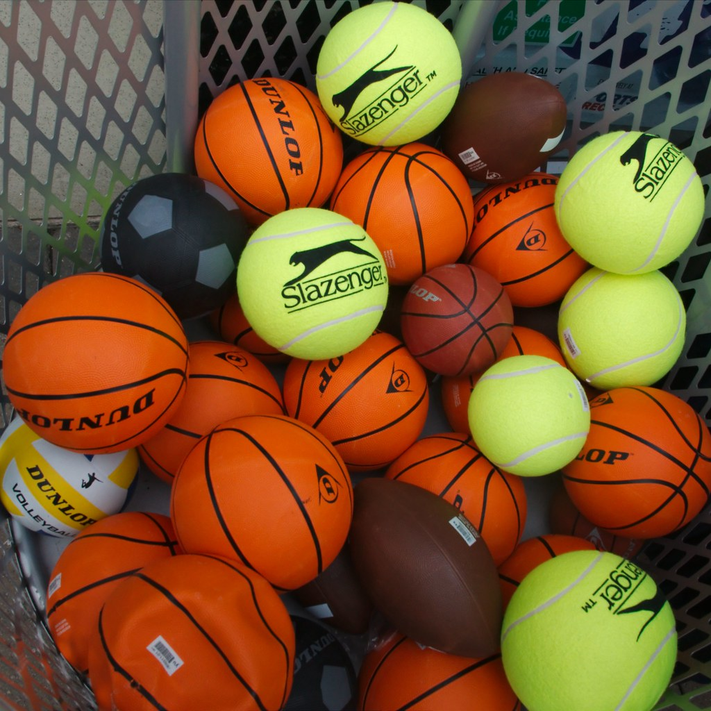 Sport Basketball And Or Tennis Football Rugby I Wonder Flickr