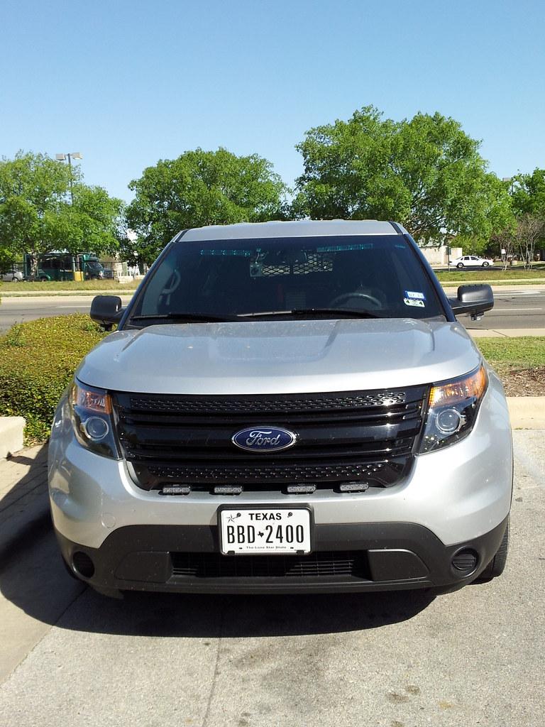 Ford Explorer Cop Car Specs
