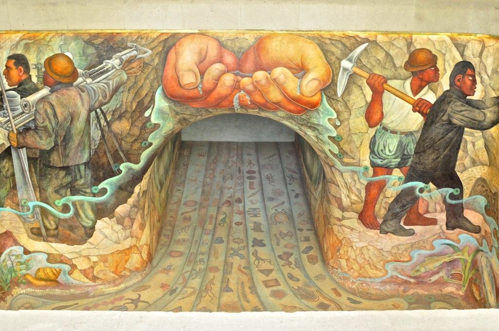 El agua origen de la vida mural de diego rivera i flickr for Avisos de ocasion el mural