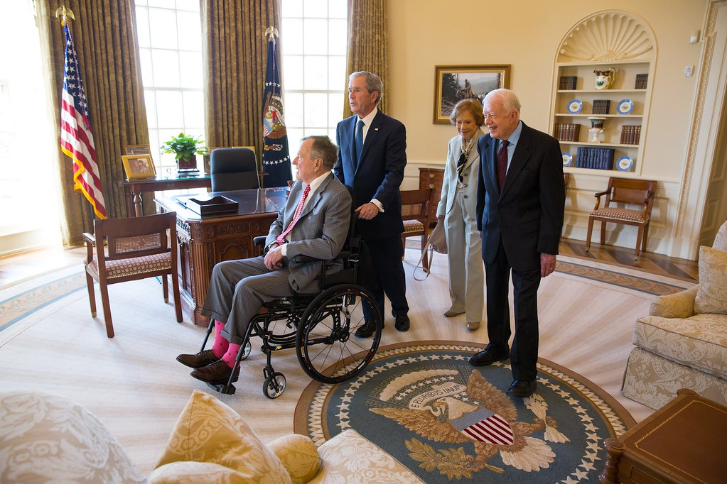 george bush oval office. Touring The Oval Office | By TheBushCenter George Bush O