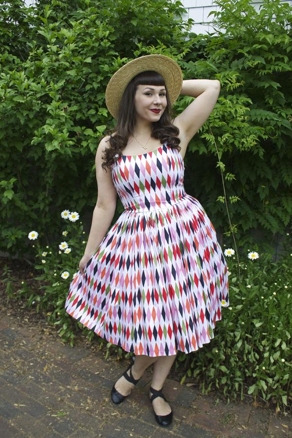 harlequin jenny dress