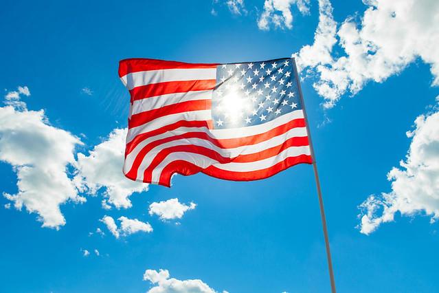 United-States-flag-flying