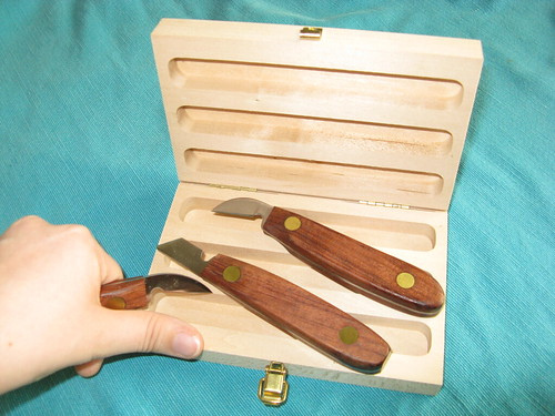 Pc chip carving knife set these are the