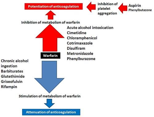 Warfarin drugs interaction   Evgeny Zhivago   Flickr