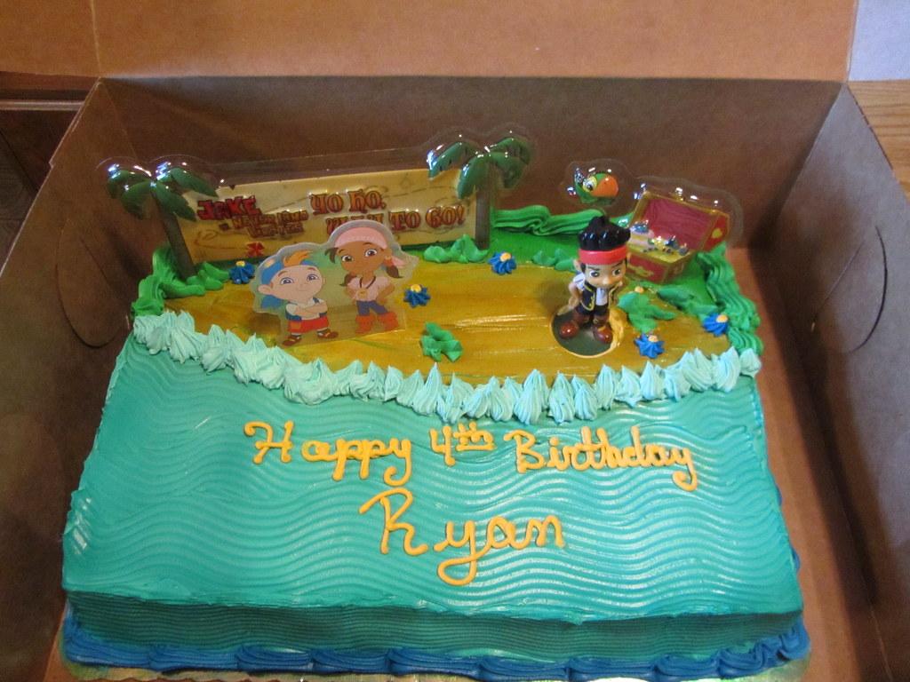 jake and the neverland pirates cake - photo #37