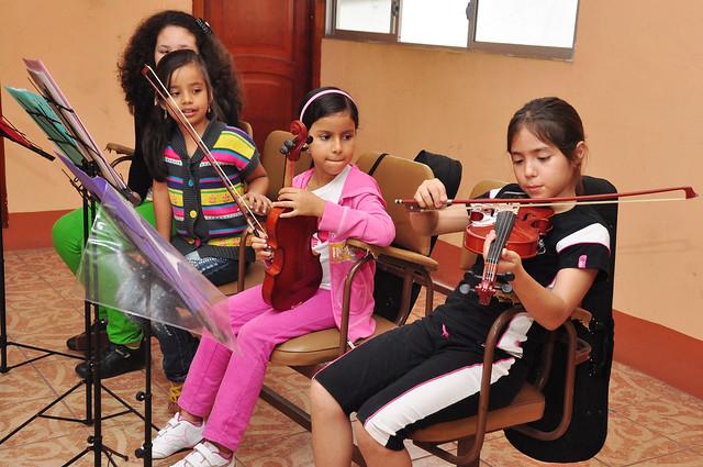 Cursos Vacacionales 2013 – Violín