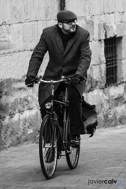 Elegance on the bike