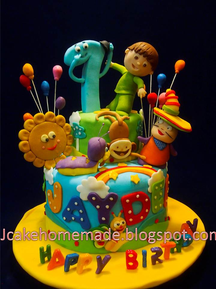 Bday Cake Designs For Baby Boy
