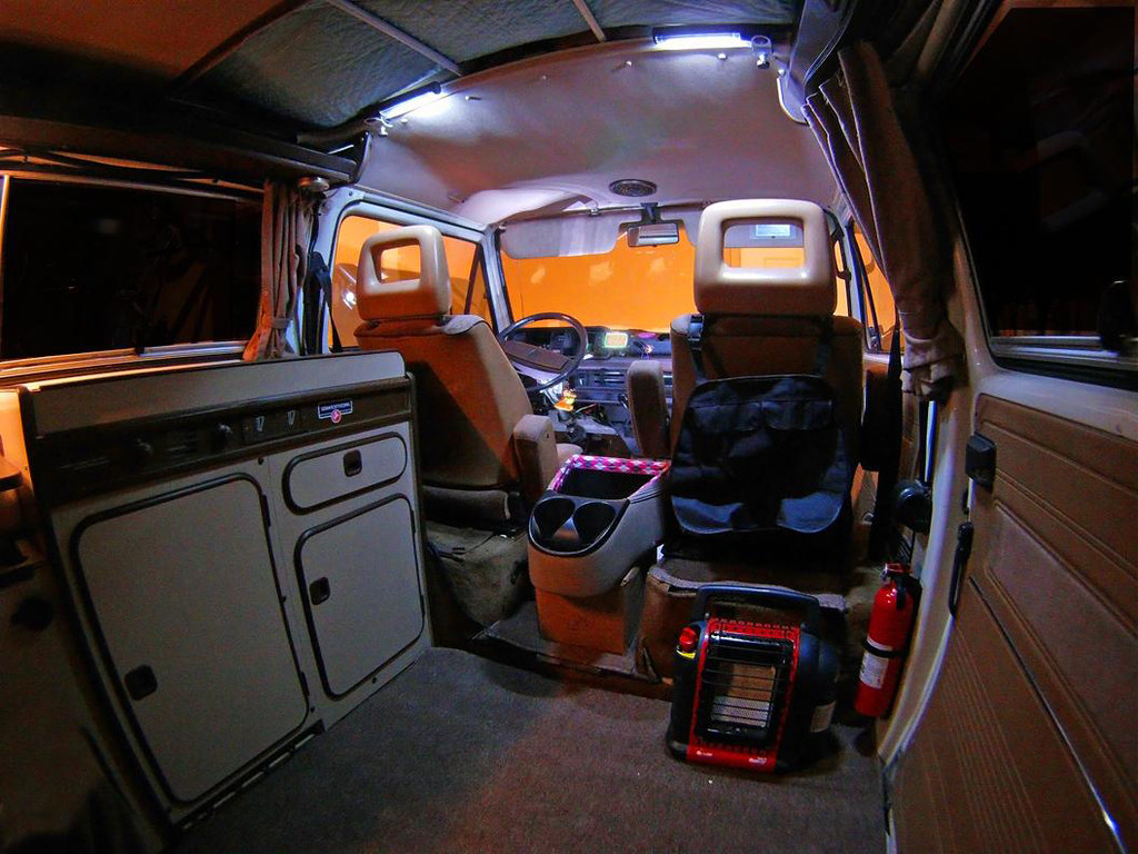 Gopro Interior Westfalia 1985 Pop Top Volkswagen