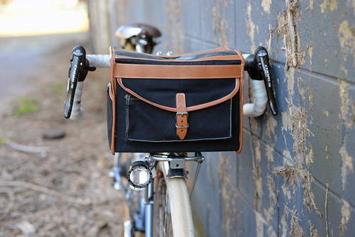 Mark's Rack, VO Handlebar Bag (Modified) | by Lovely Bicycle!