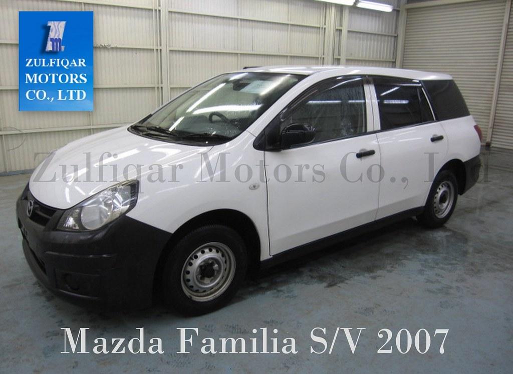 Mazda Familia S V 2007 Zulfiqar Motors Co Ltd Presents