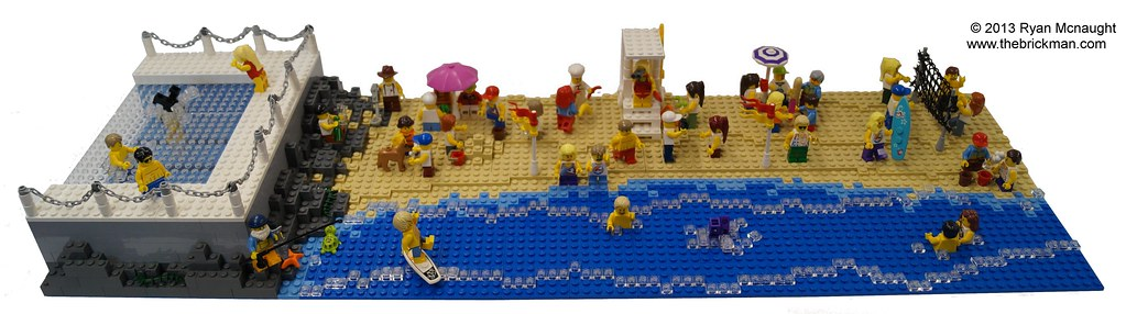 Lego Bondi Beach A Small Space Limited Model Designed To F Flickr
