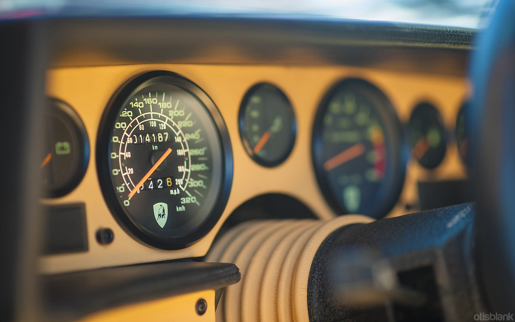 Countach Speedometer More At Www Facebook Com Otisblankpho Otis