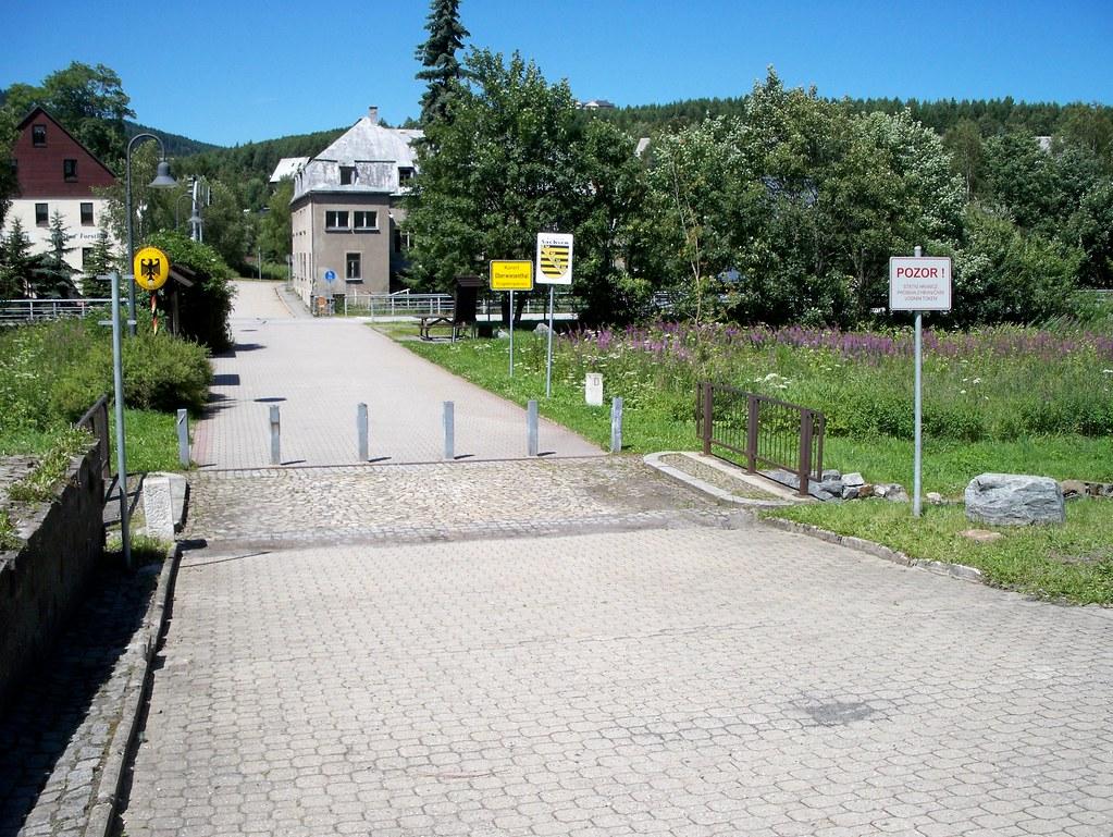 Shoppen Tschechische Grenze