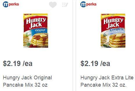 Pancake Mix and Syrup Coupons