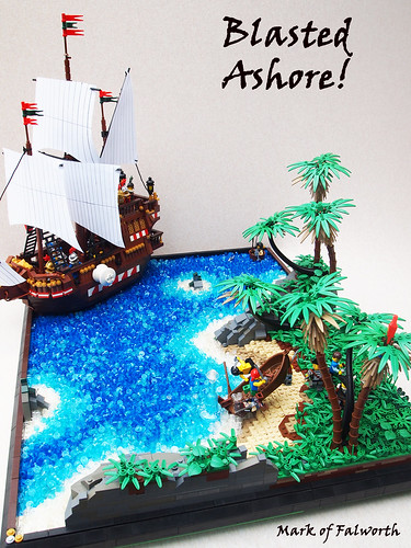 Blasted ashore a continuation of my pirate story be sure flickr - Ile pirate lego ...