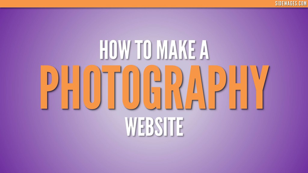 How to make a free photography website x5