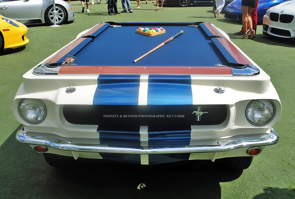Mobile Pool Table Ford Mustang Kev Cook Flickr - Mobile pool table