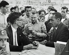 Bible Answers Race Hate at Sit-In: Arlington VA, 1960