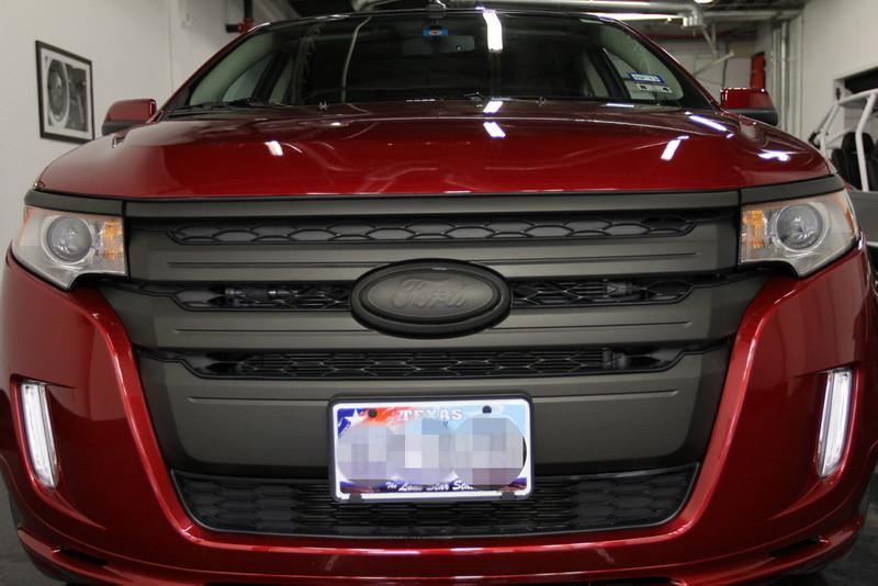 Berserk Ford Edge 2013 Matte Black Grille Full Bumper C