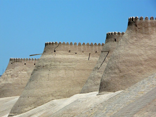 Muralla de Khiva (Uzbekistán)