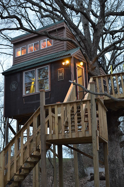 Garden Of The Gods Cabin Tree Houses Flickr Photo Sharing
