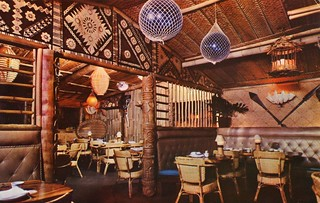 The Tiki Room, Trader Vic's Polynesian Restaurant, San Francisco CA | by SwellMap