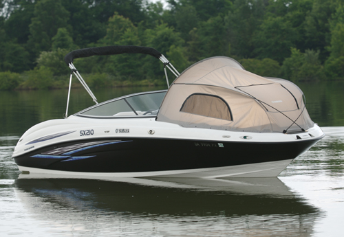 ... Yamaha SX210 Bow Tent | by Commercial Sewing & Yamaha SX210 Bow Tent | This is a Yamaha SX210 boat with a bu2026 | Flickr