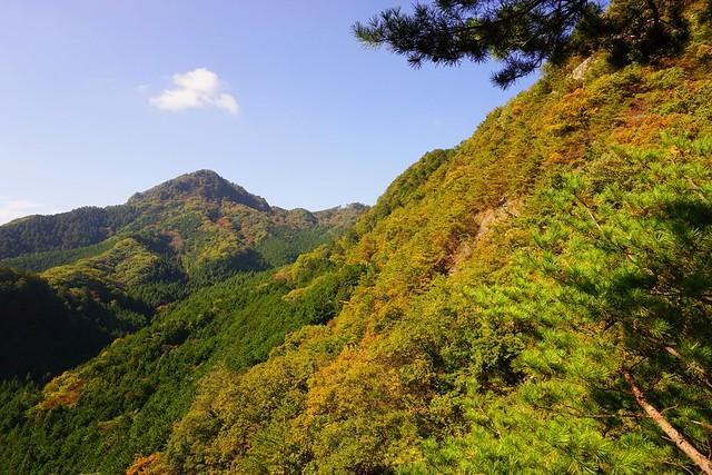 紅葉の古賀志山