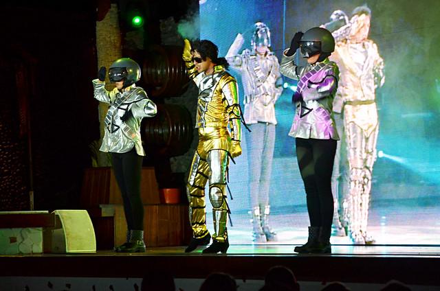 Michael Jackson double, Costa Adeje, Tenerife