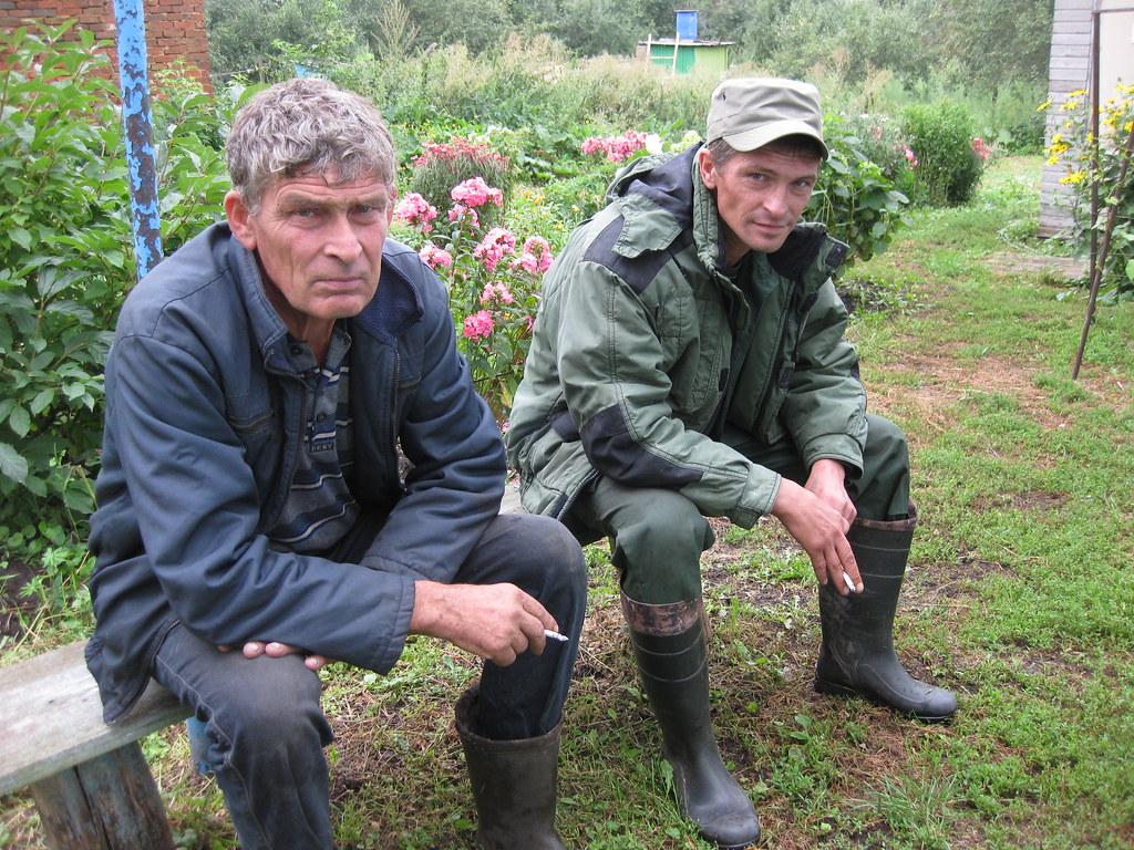 Ерошкин Николай Викторович с сыном Ерошкиным Сергеем Николаевичем