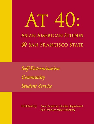 At 40 Front Cover | by AAS at SFSU