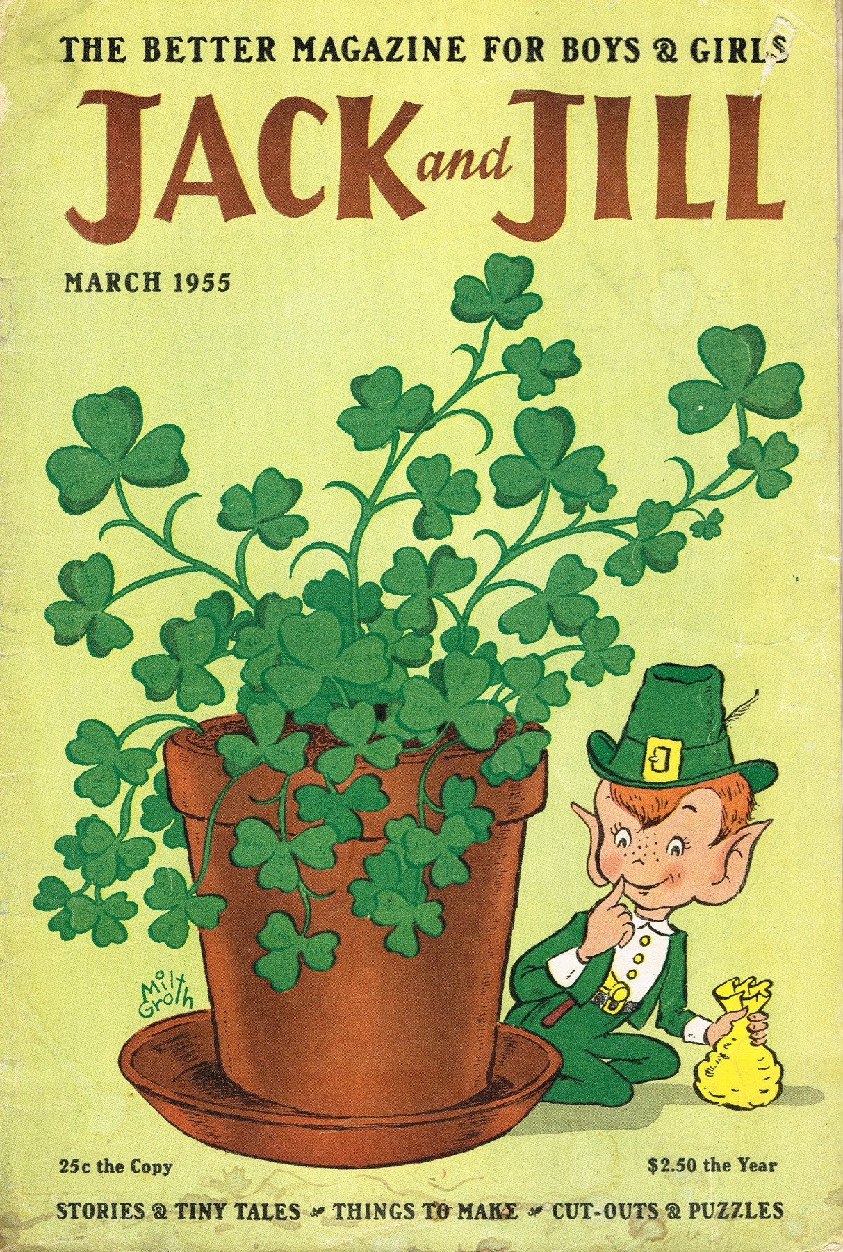 Jack and Jill - published March 1955