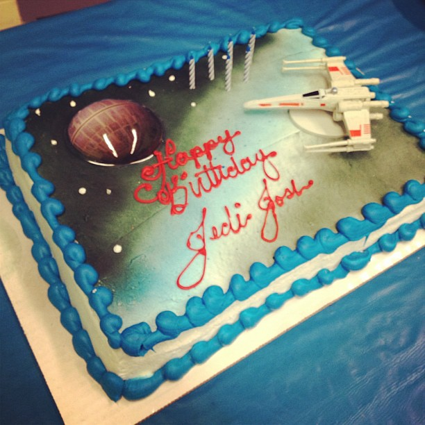Happy Birthday Cake Joshua Images ~ Happy th birthday jedi joshua starwars cake sarah tuck flickr